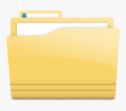 yellow_glossy_folder_icon_by_azmind-d4vvr1o